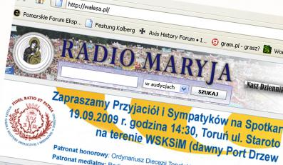Adres walesa.pl to...Radio Maryja