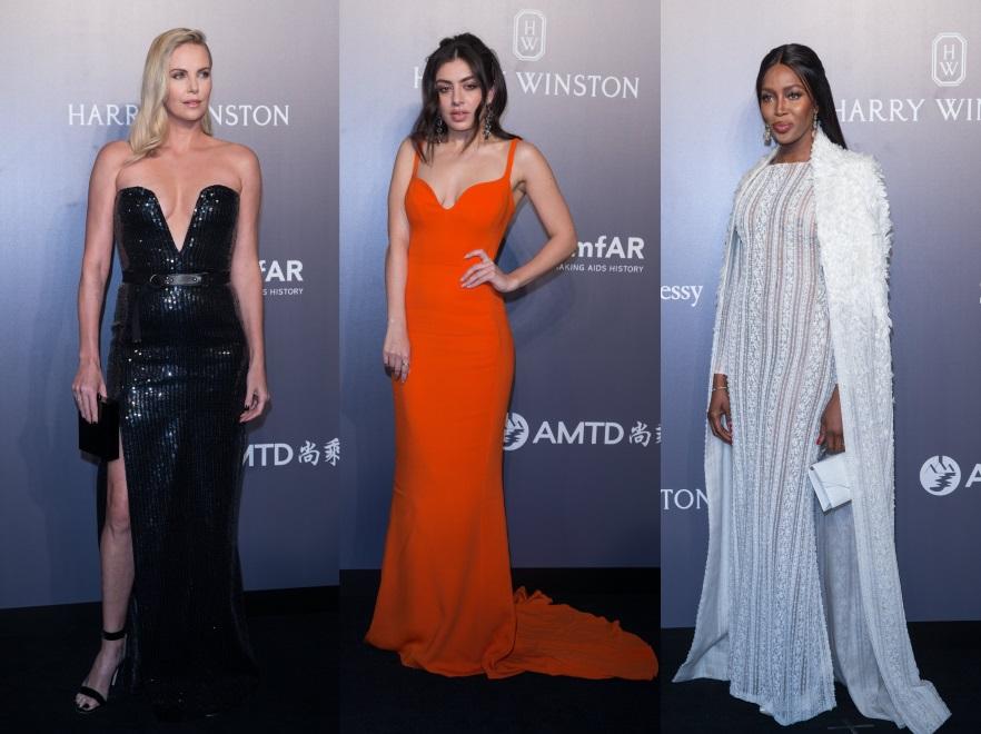 Charlize Theron, Charli XCX i Naomi Campbell