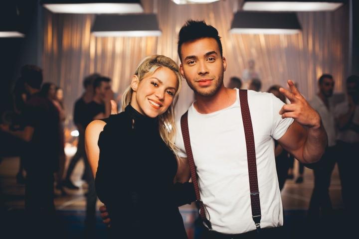 Shakira oraz Prince Royce