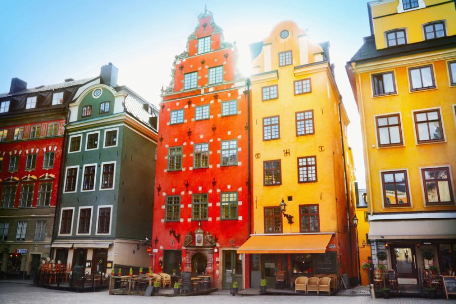 Rynek w Sztokholmie