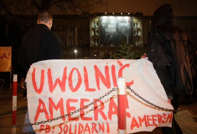 Pikieta ws. deportacji Ameera
