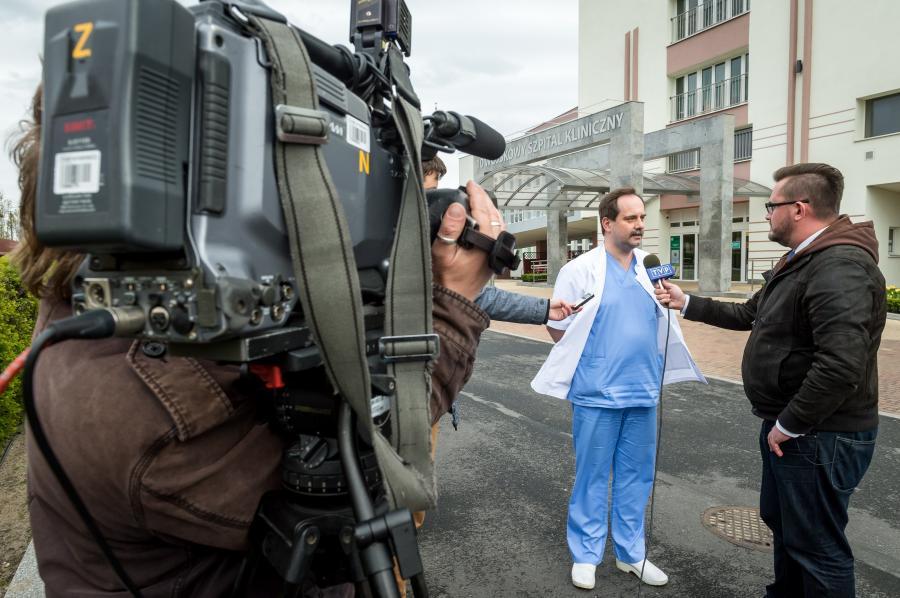 Ordynator oddziału klinicznego anestezjologii i intensywnej terapii Wojskowego Szpitala Klinicznego dr Robert Włodarski