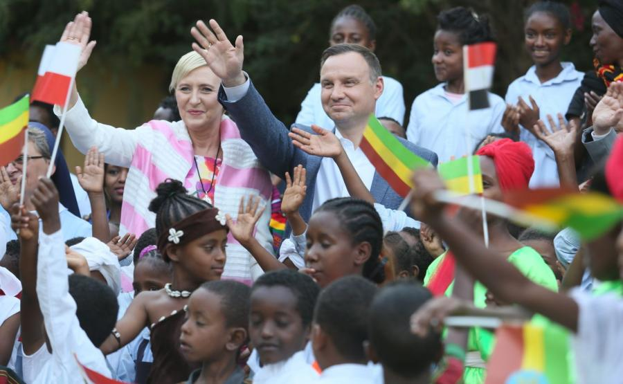 Andrzej Duda w Etiopii