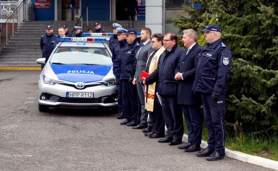 Na śląskich ulicach pojawią się 34 radiowozy o napędzie hybrydowym