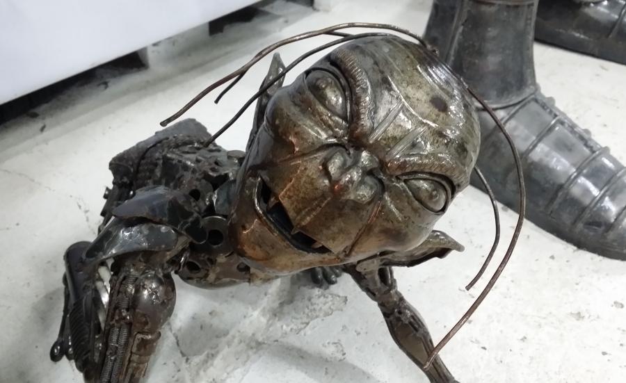 Gollum w Galerii Figur Stalowych