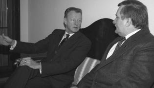 Brzeziński i Wałęsa