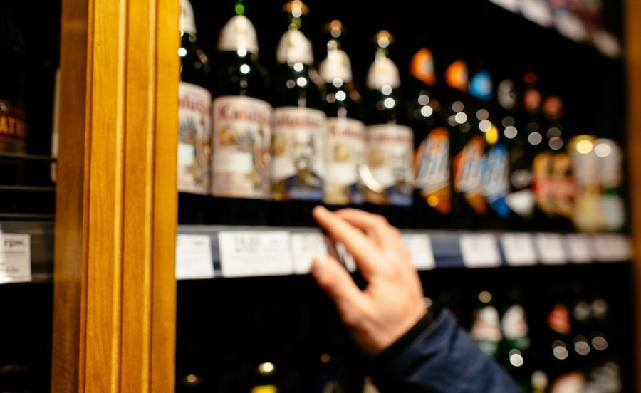 Nocny sklep z alkoholem