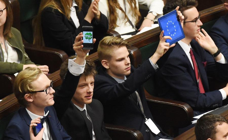 Posiedzenie Sejmu Dzieci i Młodzieży