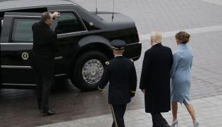 Cadillac One w Waszyngtonie