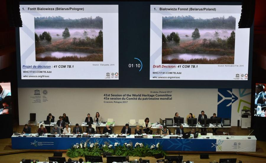Dyskusja na temat Puszczy Białowieskiej podczas 41. Sesji Komitetu Światowego Dziedzictwa Kulturowego UNESCO