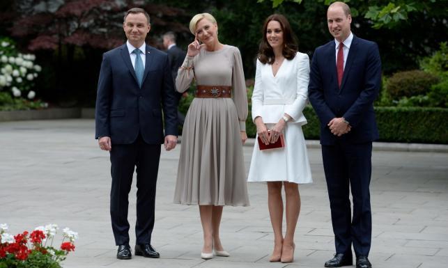 Kate i William w Polsce. Spotkanie z parą prezydencką i wizyta w Muzeum Powstania Warszawskiego [ZDJĘCIA]
