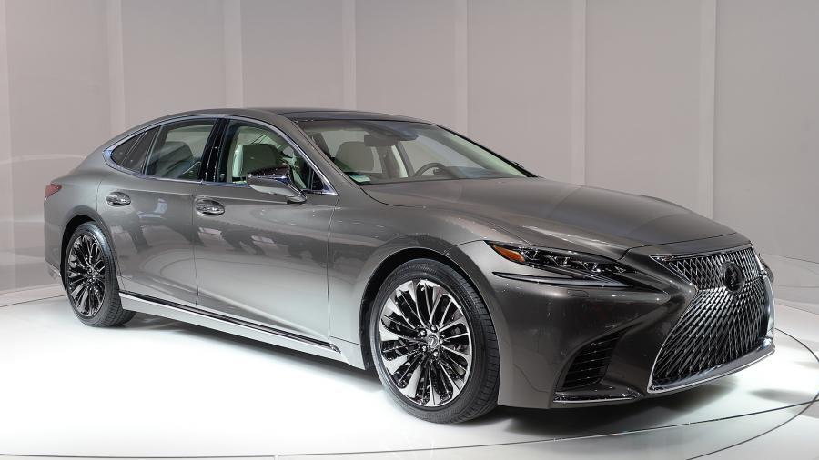 Nowy Lexus LS 500h