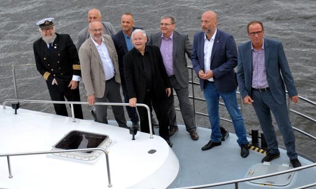 Kaczyński, Morawiecki, Brudziński. Tłum polityków PiS na otwarciu finału regat The Tall Ships Races
