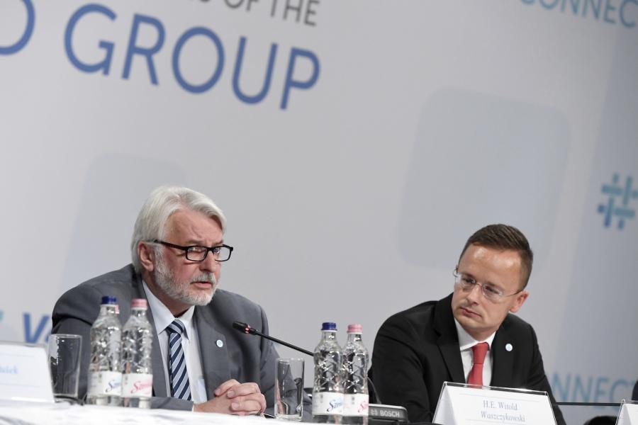 Witold Waszczykowski i Peter Szijjarto
