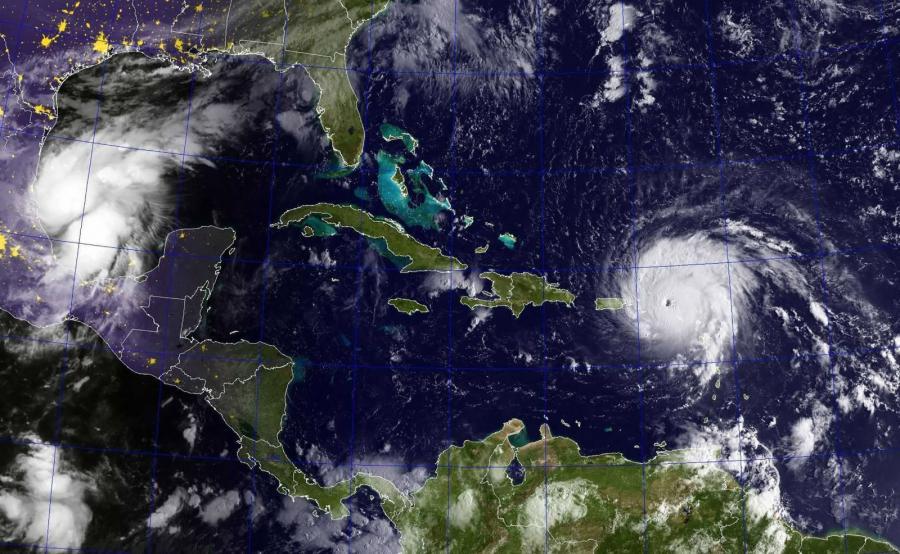 Huragany Irma i Katia