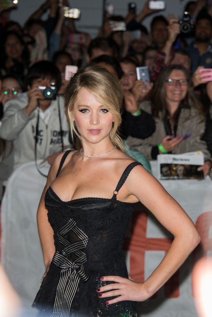Jennifer Lawrence na festiwalu filmowym