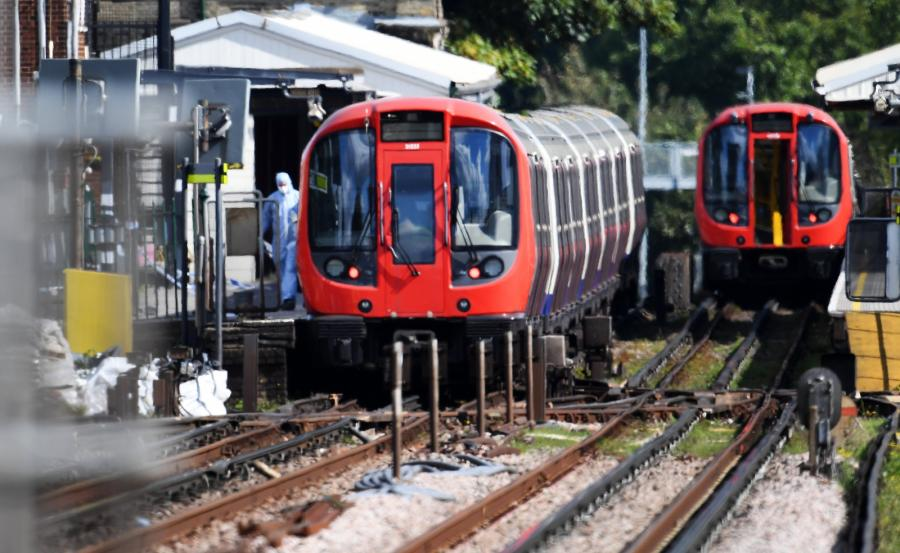 Londyn wybuch w metrze