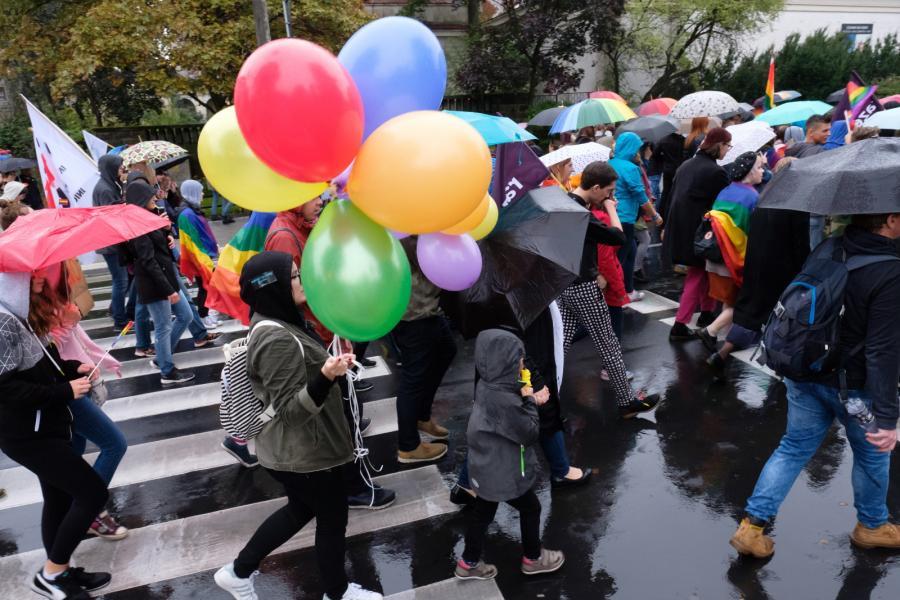 Ulicami Poznania przeszedł Marsz Równości