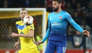 Nemanja Milunovic i Olivier Giroud