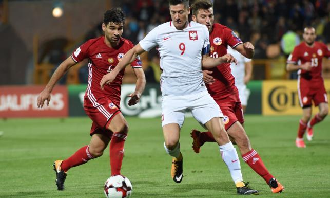 El. MŚ 2018: Miazga! Sześć goli Polaków w meczu z Armenią