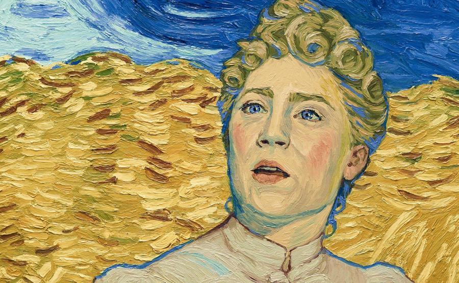 Saoirse Ronan w stylu Van Gogha
