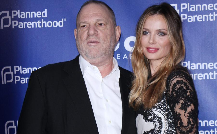 Harvey Weinstein i Georgina Chapman