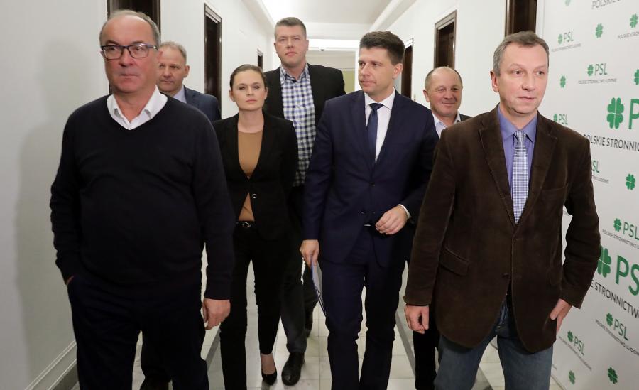 Przedstawiciele partii opozycyjnych