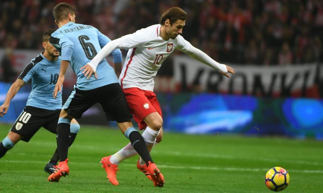 Bez Lewandowskiego, bez gola i już na zawsze bez Boruca. Polska - Urugwaj 0:0 [FOTO]
