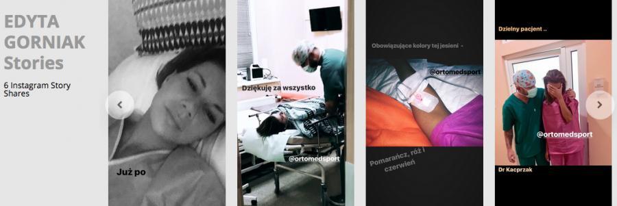 Edyta Górniak w szpitalu