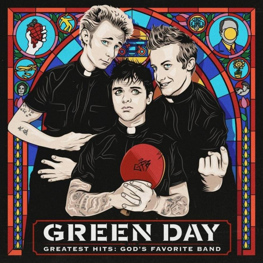 "Green Day – ""Greatest Hits God's Favourite Band""; Warner Music Polska 2017"