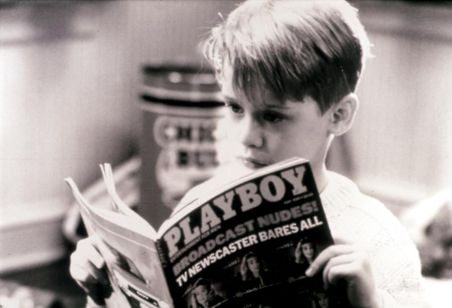 Macaulay Culkin w filie \