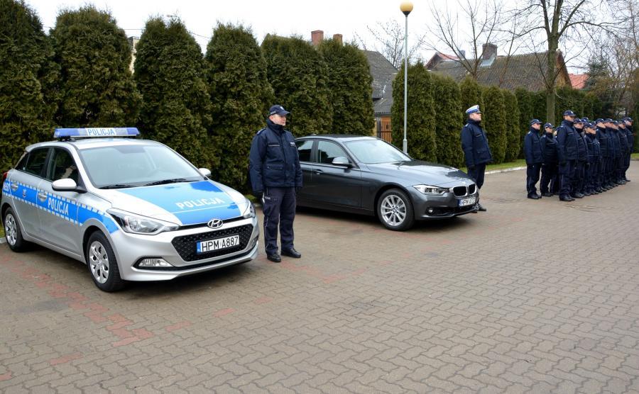 Policjanci z Sokółki poza BMW serii 3 dostali też oznakowany radiowóz - Hyundai i20