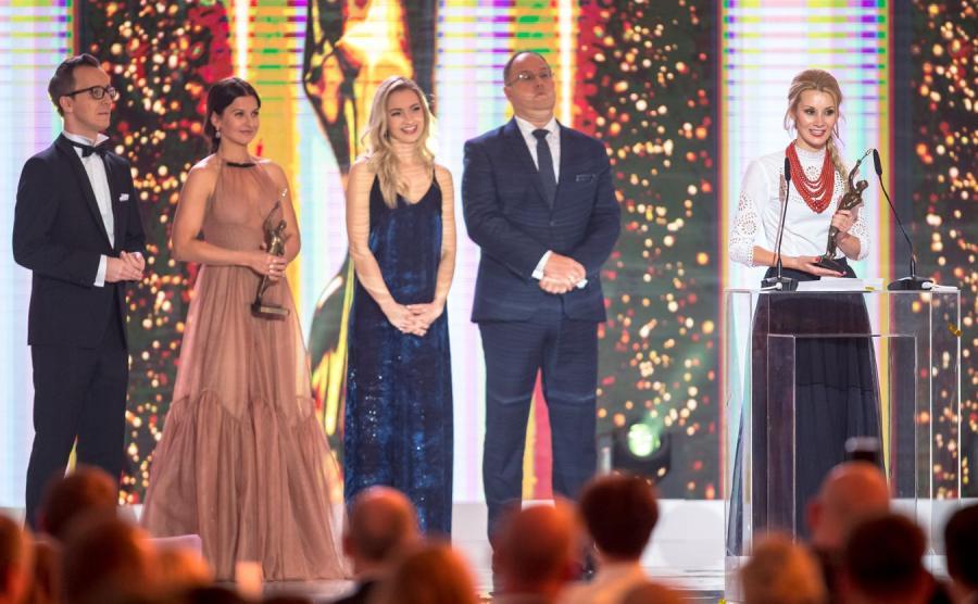 Ewa Bilan-Stoch odebrała za męża statuetkę dla zwycięzcy plebiscytu