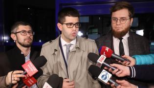 Rezydenci przed spotkaniem z ministrem