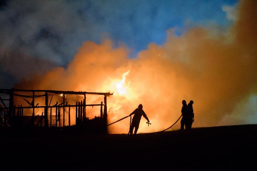 Wybuch gazociągu
