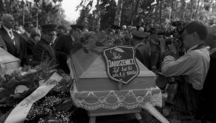 Pogrzeb Piotra JAroszewicza i jego żony