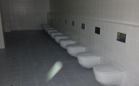 Toalety na stadionie w Wołgogradzie