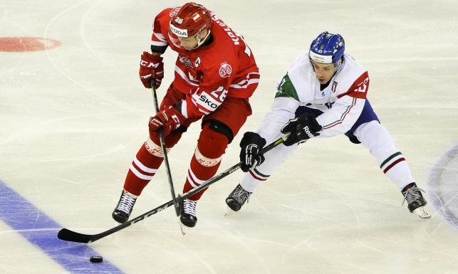 MŚ w hokeju: Polacy zaczęli turniej od porażki z Włochami