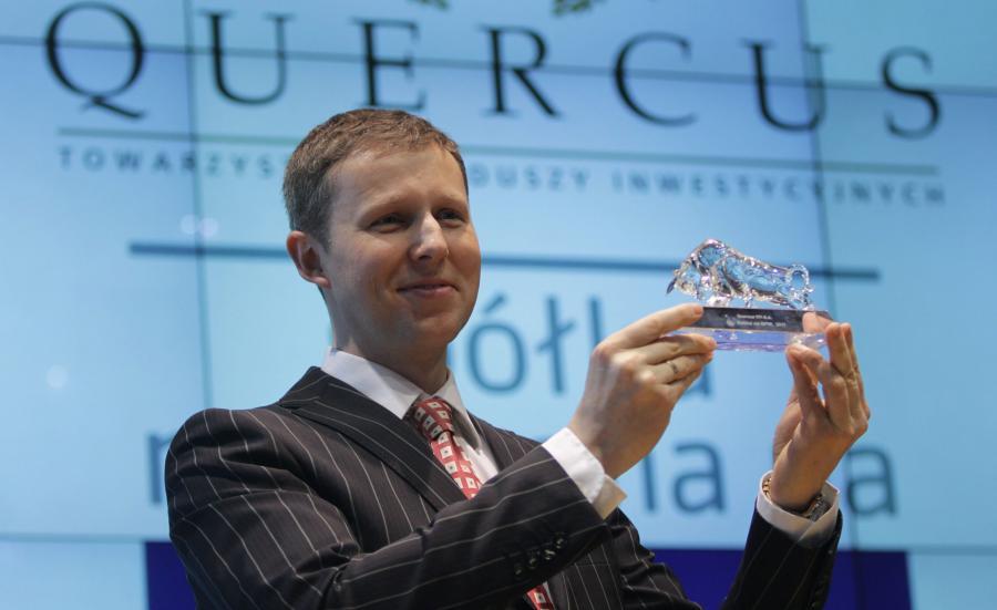 Prezes Quercus TFI Sebastian Buczek