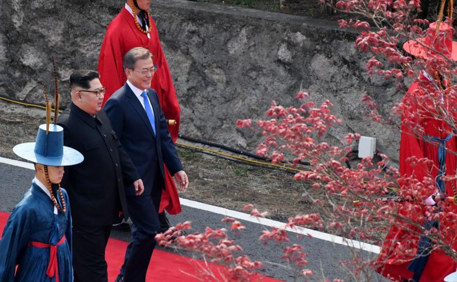 Spotkanie przywódców Korei Płn. i Korei Płd
