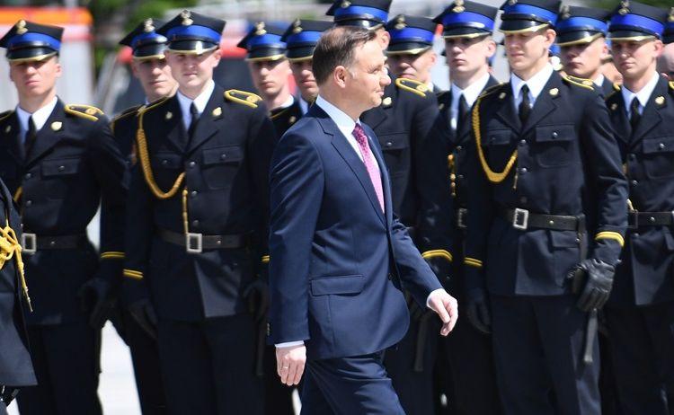 Centralne Obchody Dnia Strażaka z udziałem prezydenta Andrzeja Dudy