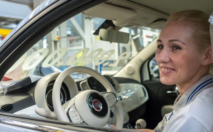 Dwumilionowy Fiat 500 wyjechał z zakładu FCA w Tychach