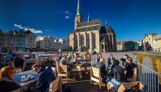 Pilzno, Plac Republiki. fot. www.visitpilsen.eu