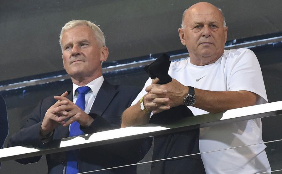 Michał Listkiewicz i Grzegorz Lato