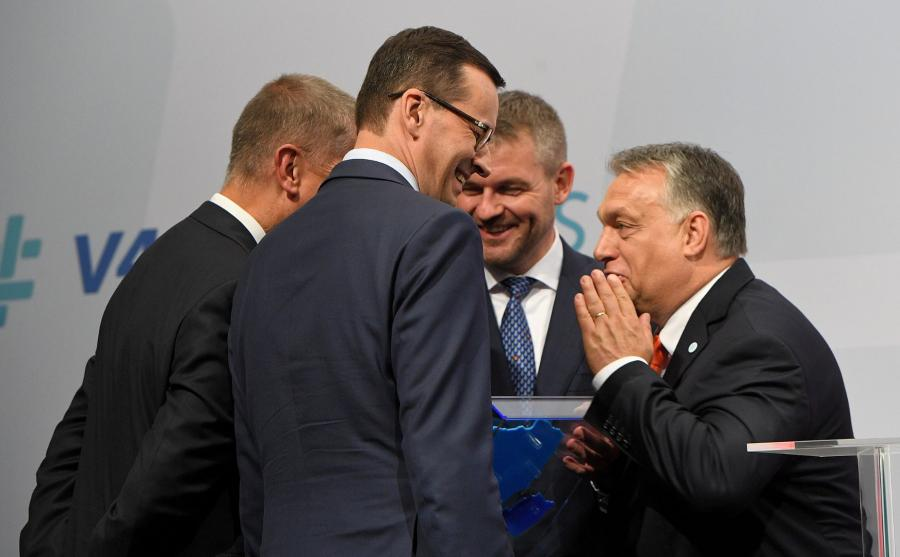 Liderzy państw V4