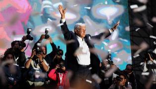 Prezydent elekt Meksyku Andres Manuel Lopez Obrador