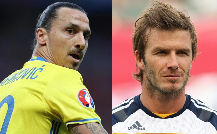 Zlatan Ibrahimović i David Beckham