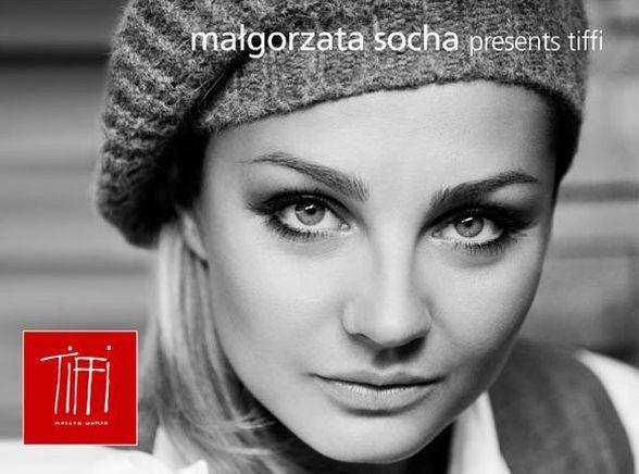 Małgorzata Socha w reklamie marki Tiffi