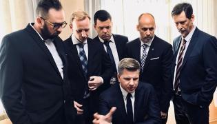 Filip Chajzer jako szef ABW w filmie Patryka Vegi