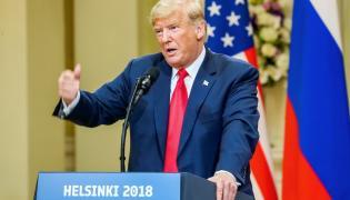 Donald Trump w Helsinkach